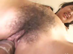 Petite boobs and hairy hole from Tokyo